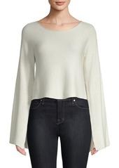 Ramy Brook Audrina Split-Sleeve Sweater