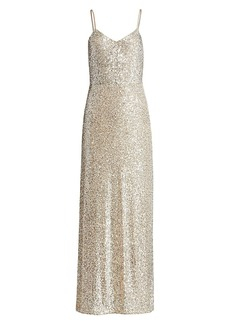 Ramy Brook Ava Sequin Column Gown