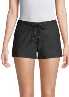 Ramy Brook Camden Lace-Up Shorts