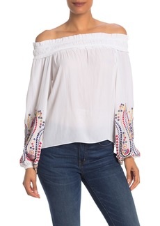Ramy Brook Carly Off-the-Shoulder Blouse