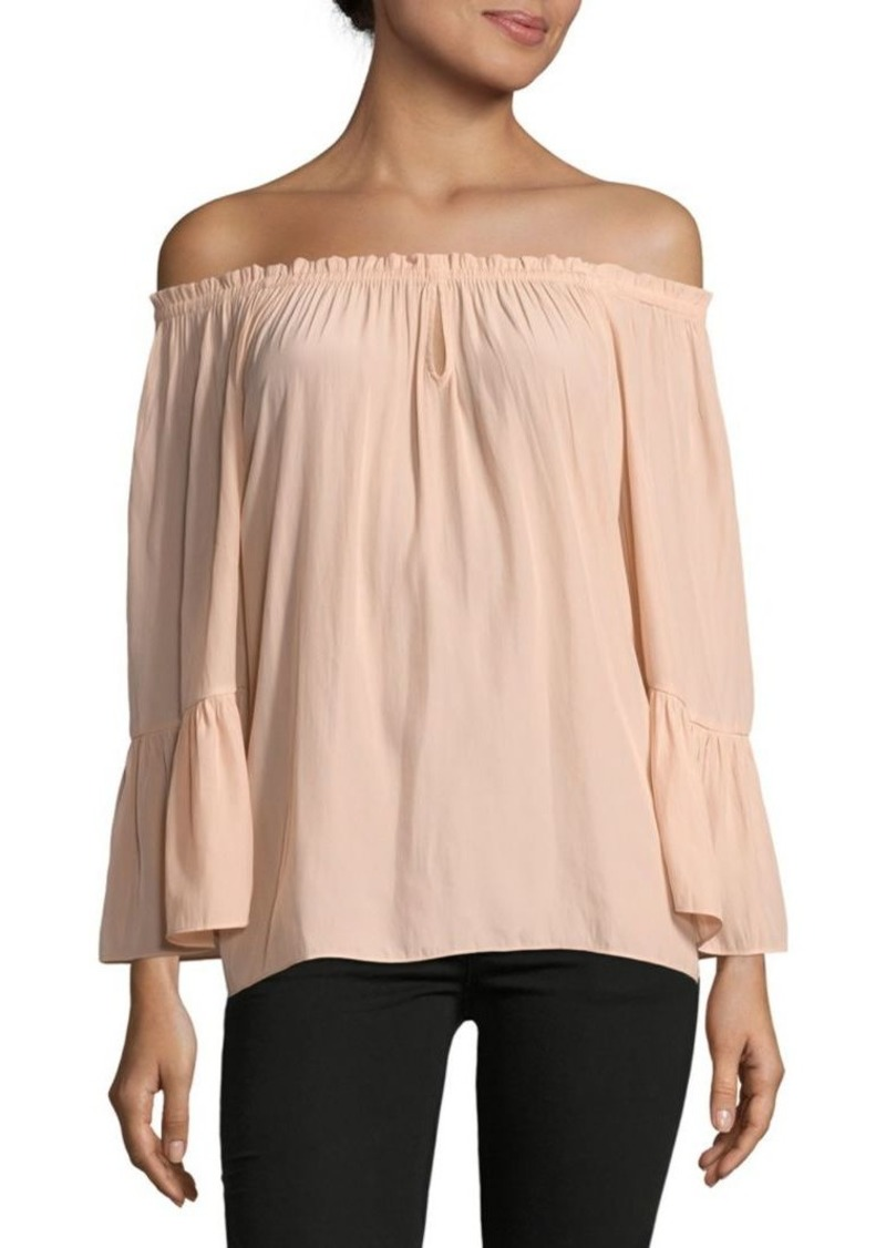 3a3cc5b75634e Ramy Brook Charity Off-The-Shoulder Top