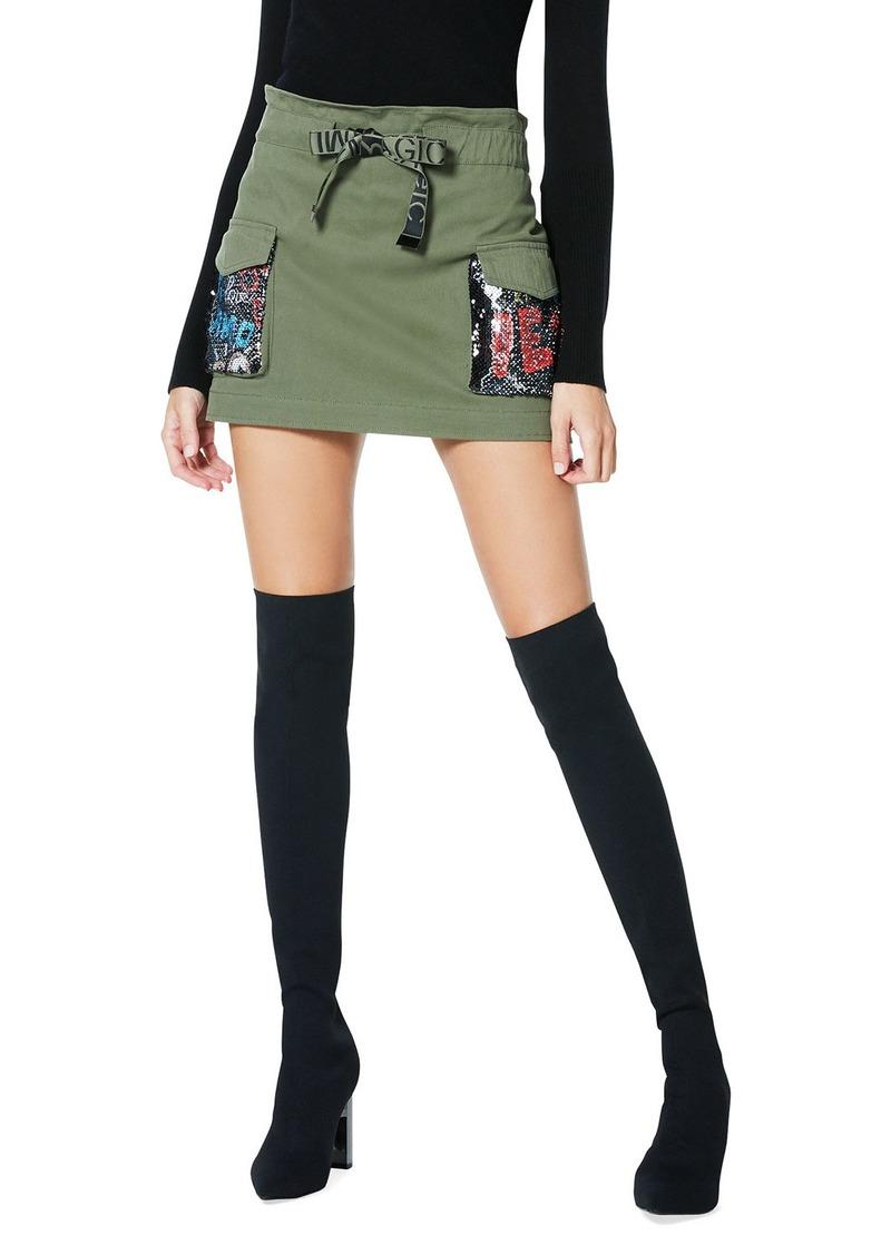 Ramy Brook Chelsea Sequined Mini Skirt