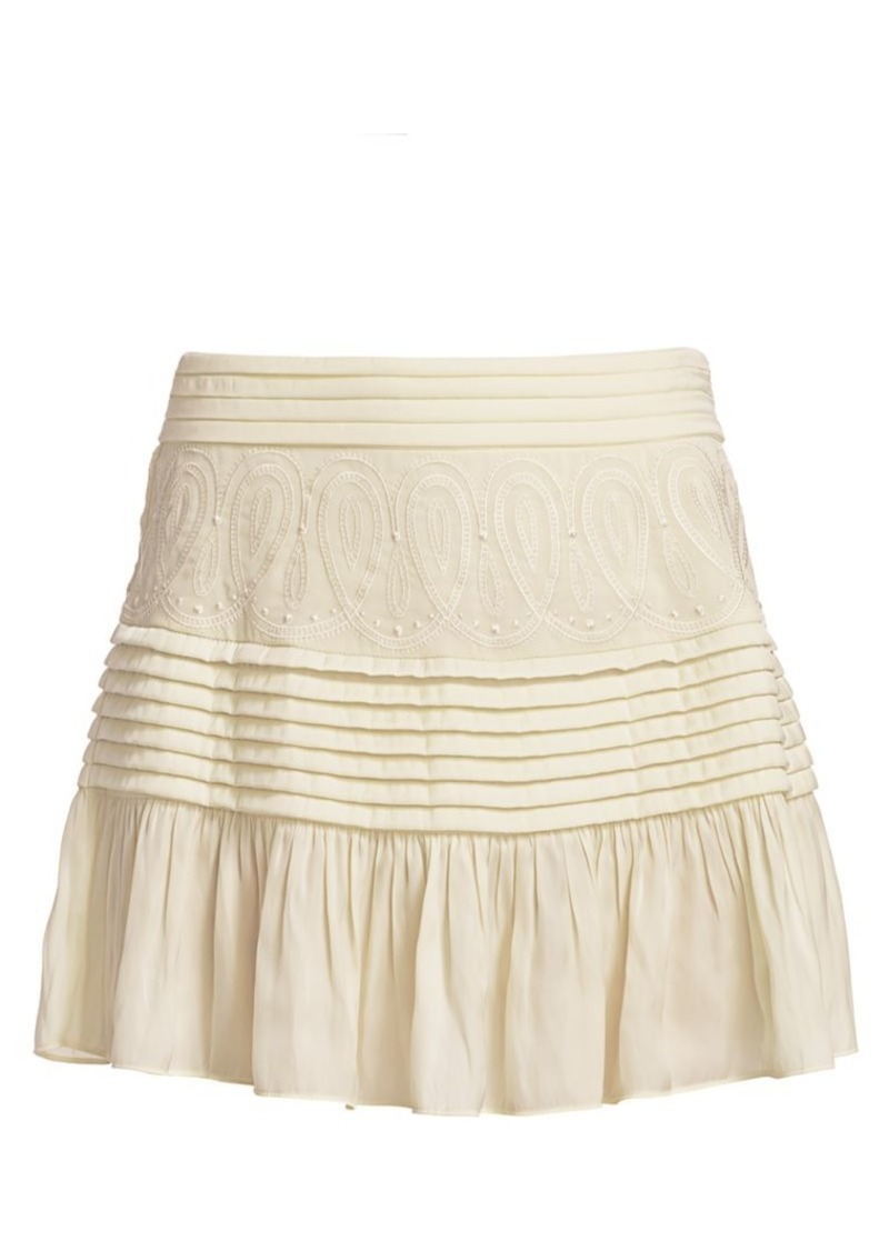 Ramy Brook Denali Detailed Skirt