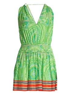 Ramy Brook Dorothy Paisley Mini Dress