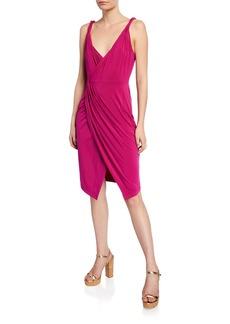 Ramy Brook Geniveve Gathered Sleeveless Dress