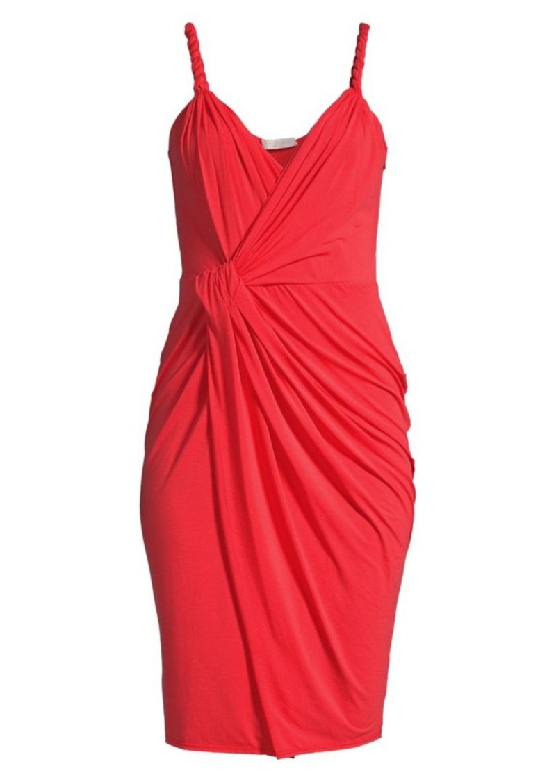 Ramy Brook Geniveve Ruched Sheath Dress