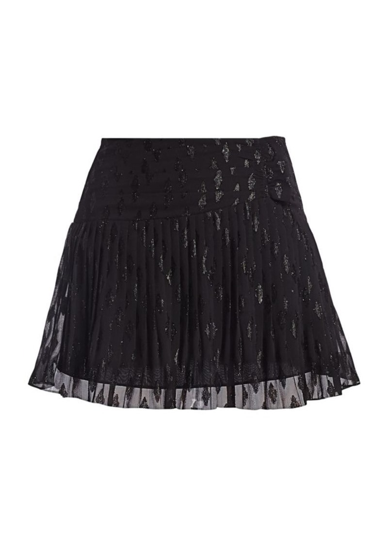 Ramy Brook Jenny Pleated Skirt