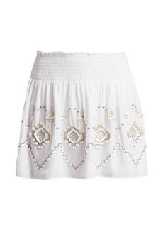Ramy Brook Kenny Eyelet Skirt