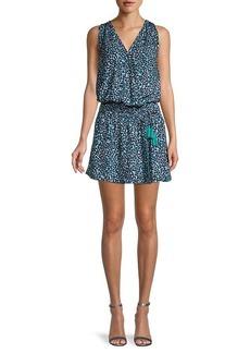 Ramy Brook Kora Printed Blouson Dress