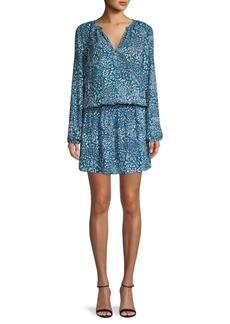 Ramy Brook Landa Print Blouson Dress