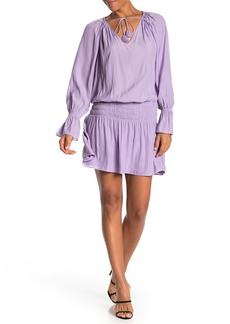 Ramy Brook Lane Shirred Waist Dress