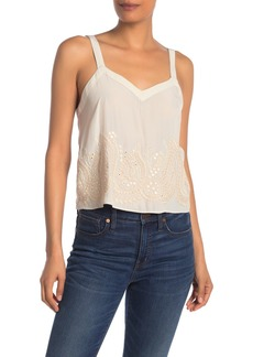 Ramy Brook Margo Embroidered Blouse