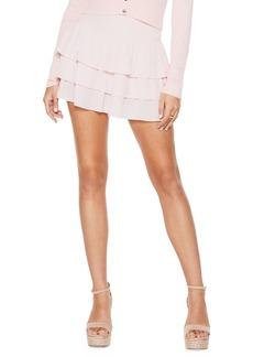 Ramy Brook Allison Tiered Ruffle Miniskirt