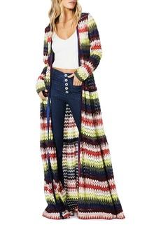 Ramy Brook Amretha Crochet Duster Cardigan