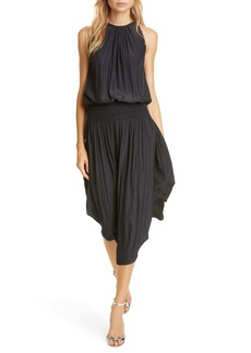 Ramy Brook Audrey Blouson Dress