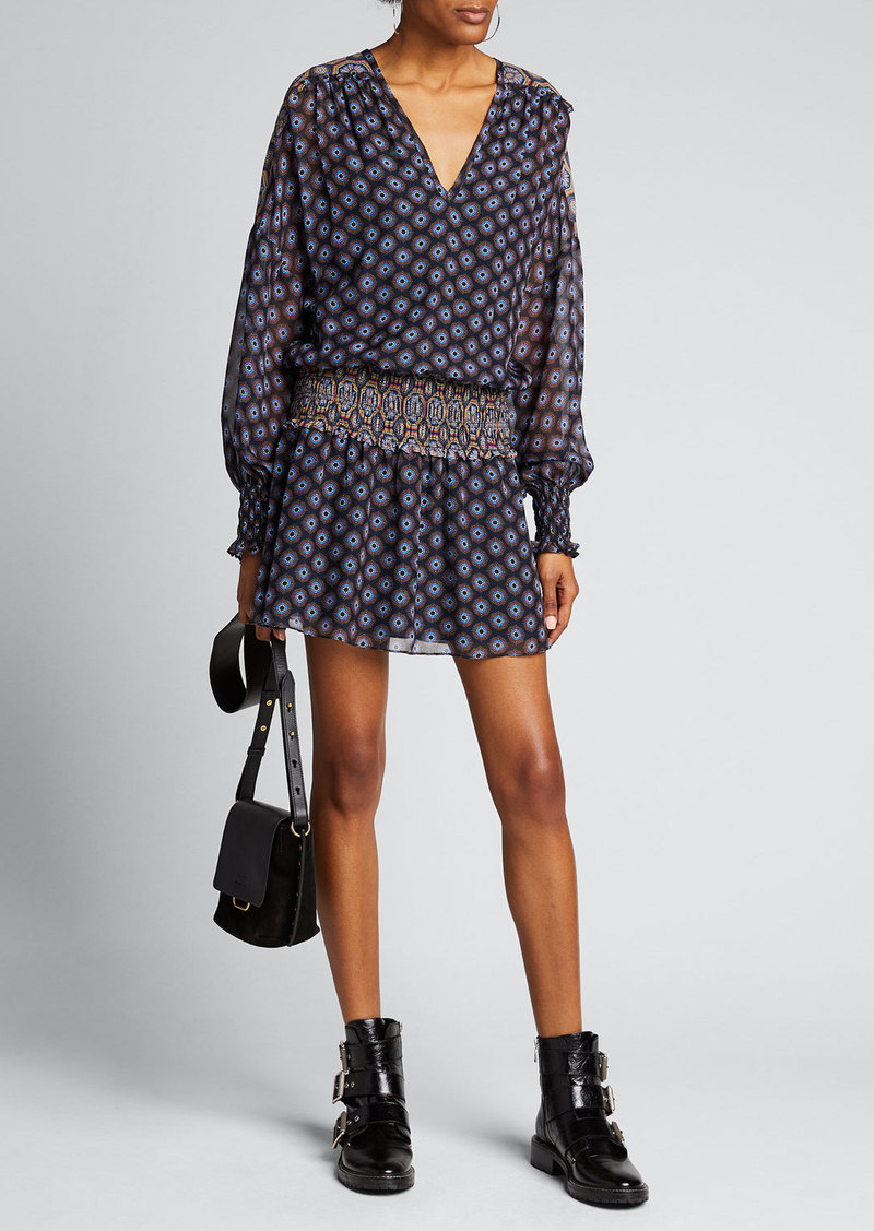 Ramy Brook Davy Butter-Cup Print Dress