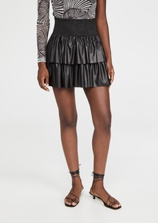 Ramy Brook Faux Leather Maryjo Skirt
