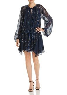 Ramy Brook Guinevere Silk Animal-Print Dress