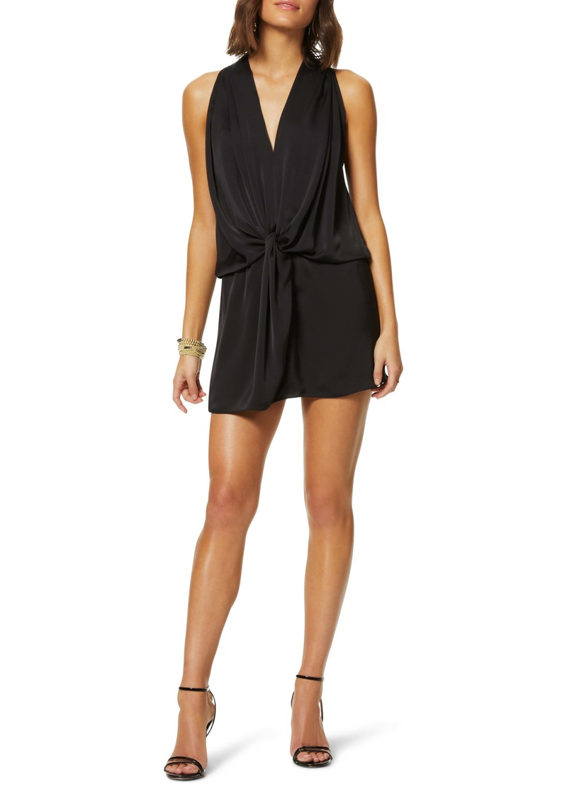 Ramy Brook Knot Front Sleeveless Minidress