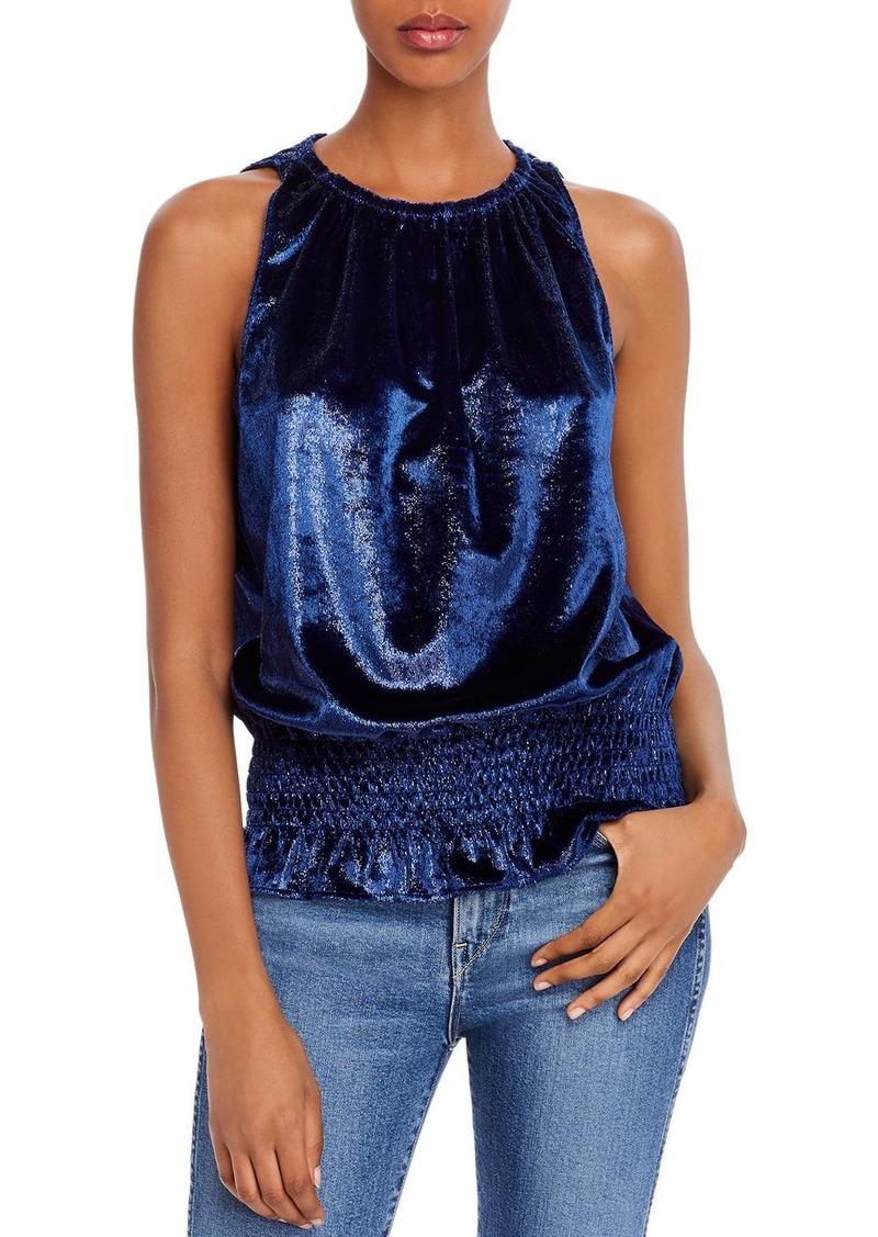 Ramy Brook Lauren Velvet Shimmer Top