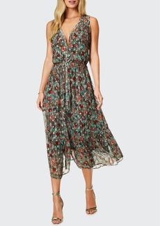 Ramy Brook Leah Floral-Print Midi Dress