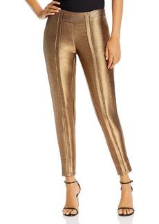 Ramy Brook Lucinda Gold Lam� Pants
