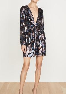 Ramy Brook Metallic Jacquard Shaina Dress