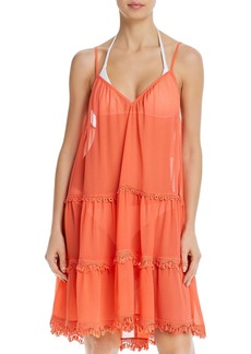 Ramy Brook Maia Fringe Dress Swim Cover-Up