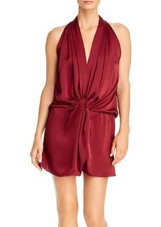 Ramy Brook Marie Sleeveless Twist-Front Dress