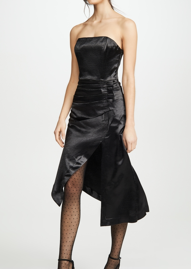 Ramy Brook Metallic Carmen Dress