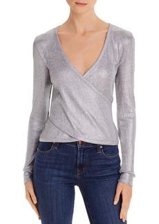 Ramy Brook Metallic Wrap Sweater - 100% Exclusive