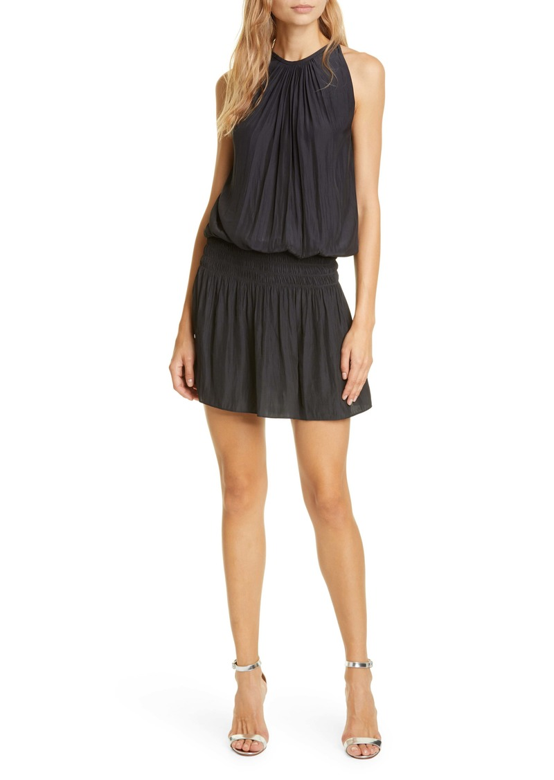 Ramy Brook Paris Blouson Minidress