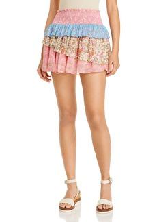 Ramy Brook Paxton Printed Mini Skirt