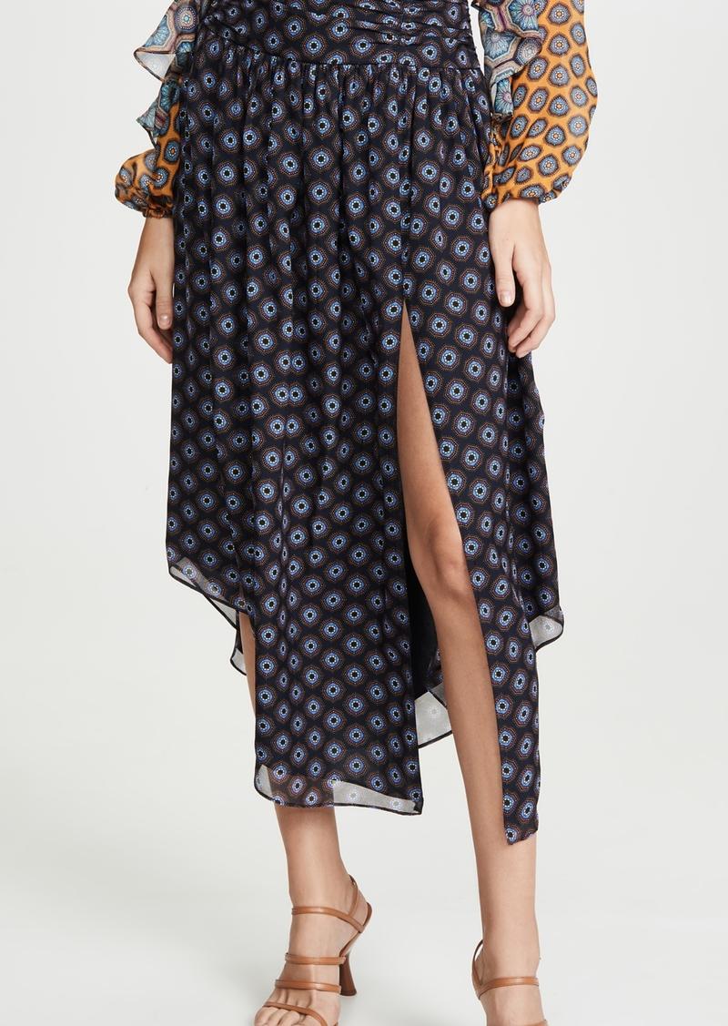 Ramy Brook Printed Layla Skirt