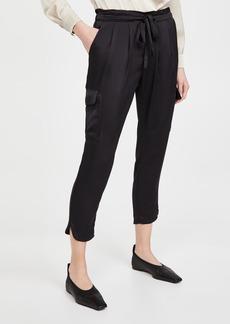 Ramy Brook Satin Pocket Allyn Pants