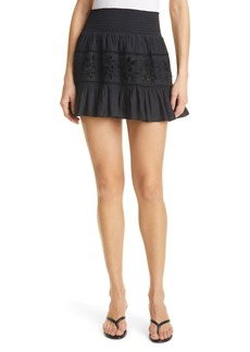 Ramy Brook Sheila Embroidered Skirt