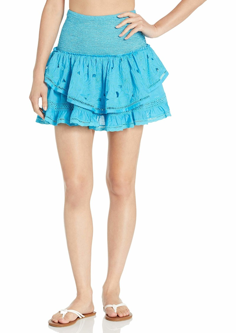 Ramy Brook Women's Arius LACE Mini Skirt
