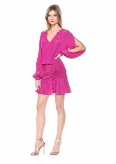 Ramy Brook Women's Becca Ruched Waist Mini Dress