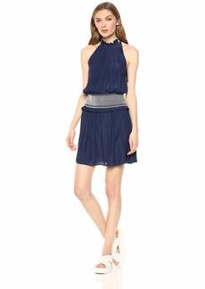 Ramy Brook Women's Blaise Smocked Waist Mini Dress