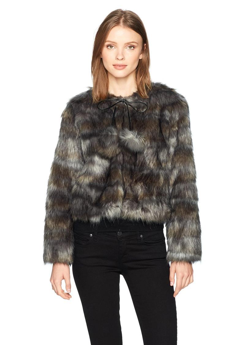Ramy Brook Women's Camo Faux Fur Krissy Jacket  XS