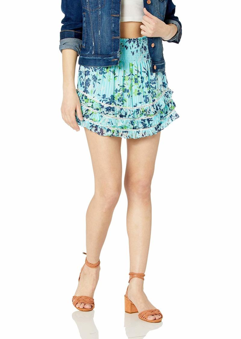 Ramy Brook Women's Dixie Floral Mini Skirt