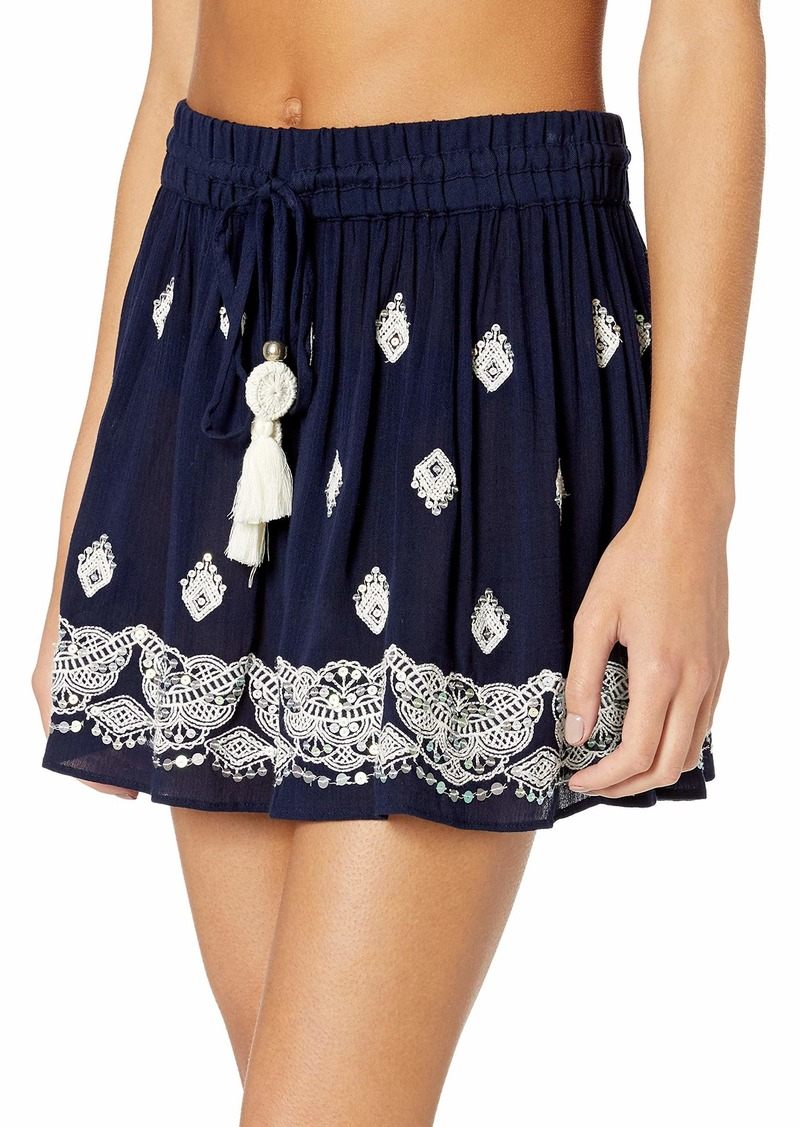 Ramy Brook Women's Embellished AVI Mini Skirt