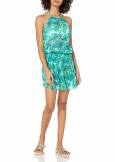 Ramy Brook Women's Floral Printed Damara Halter Dress