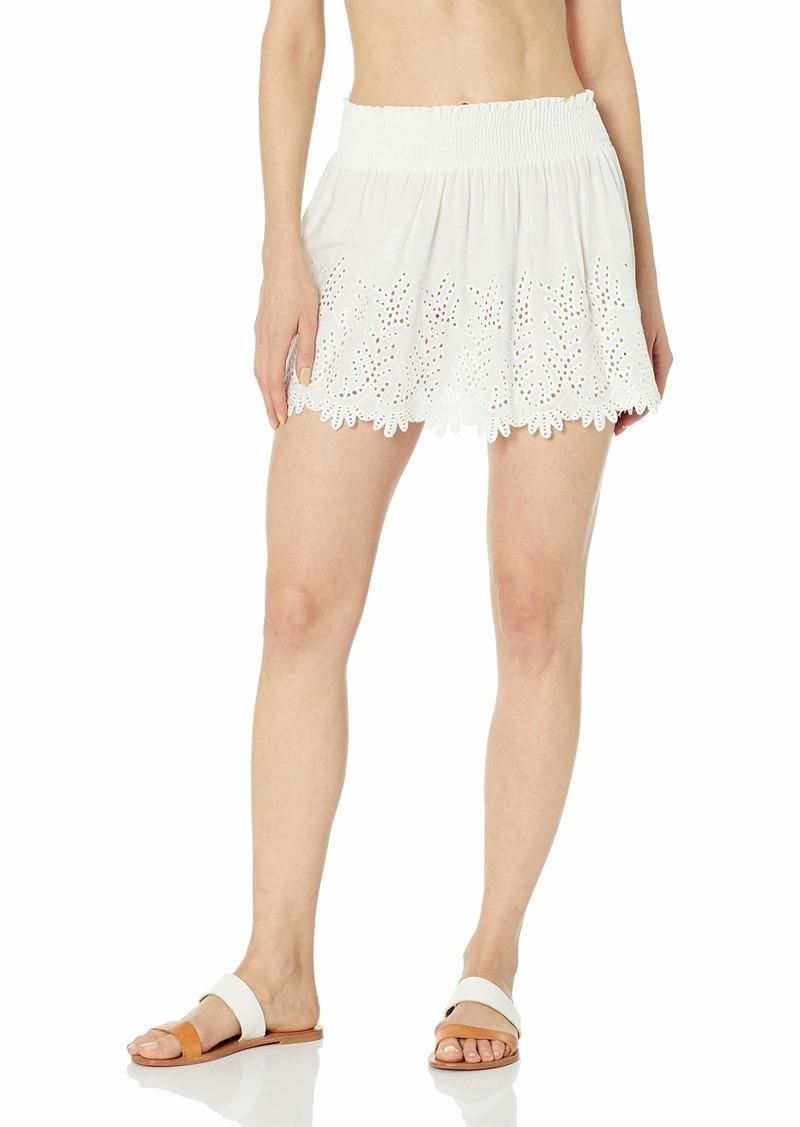 Ramy Brook Women's Junia Skirt White Combo