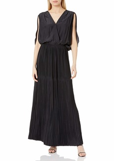 Ramy Brook Women's Karolyn Flutter Sleeve Maxi Dress