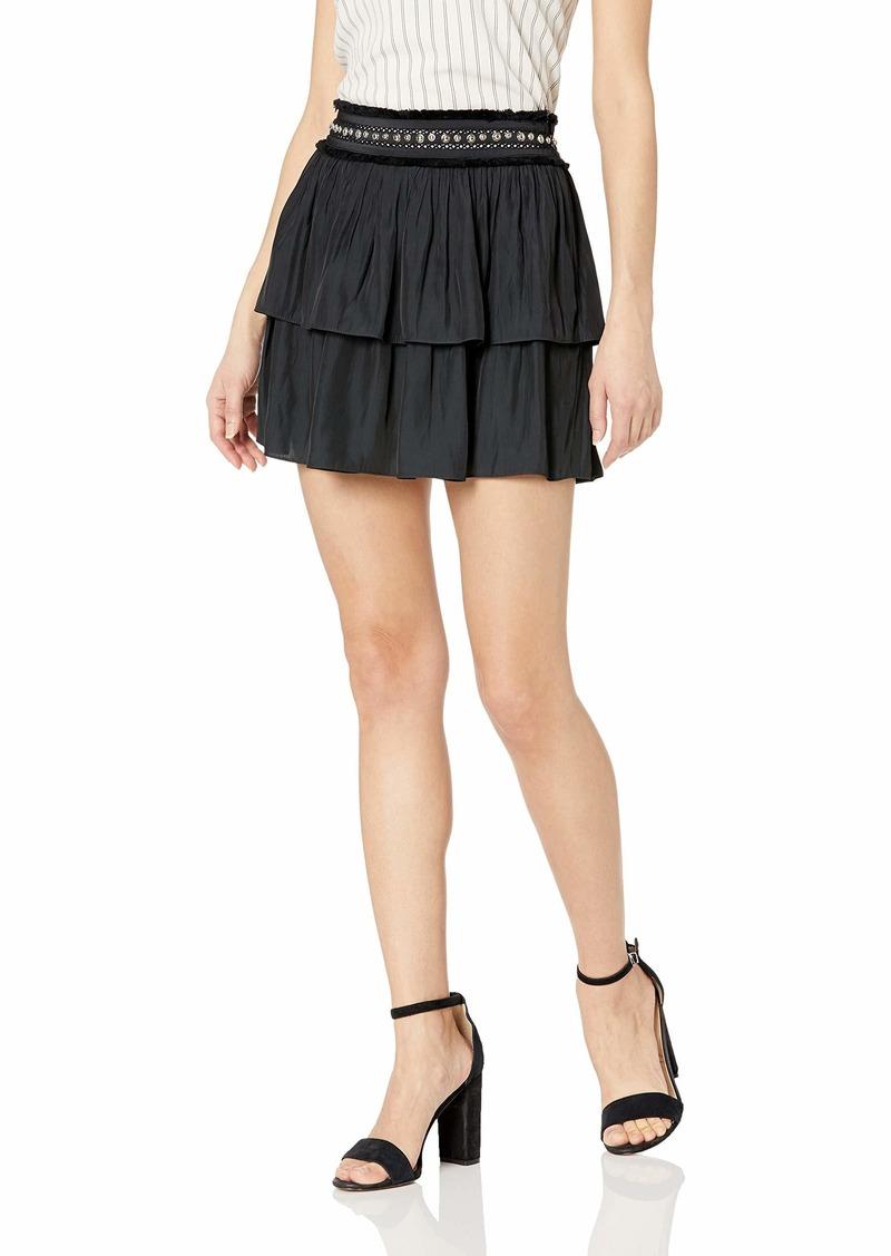 Ramy Brook Women's Maeve Studded Mini Skirt