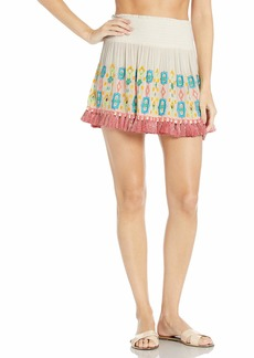 Ramy Brook Women's Paola Embroidered Skirt