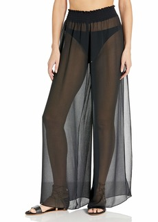 Ramy Brook Women's Textured Athena Side Slit Pant