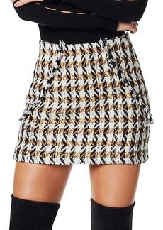 Ramy Brook Renee Tweed Mini Skirt