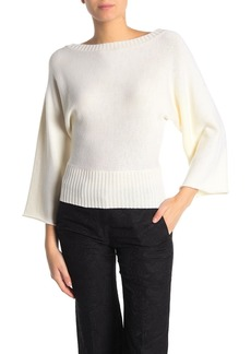 Ramy Brook Robyn Merino Wool Dolman Bell Sleeve Sweater